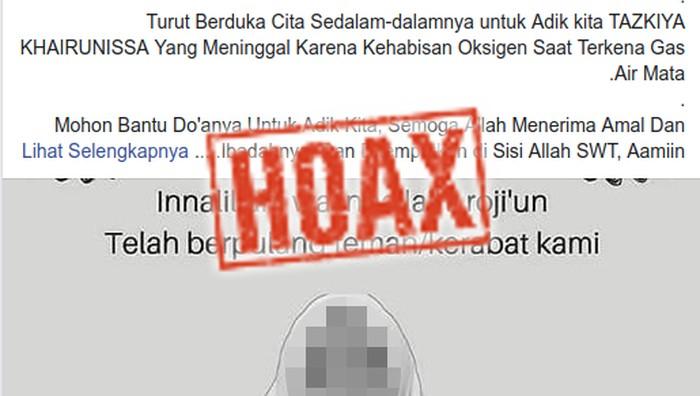 Mahasiswi tersebut meninggal karena penyakit jantung. (Foto: Tangkapan layar Facebook)