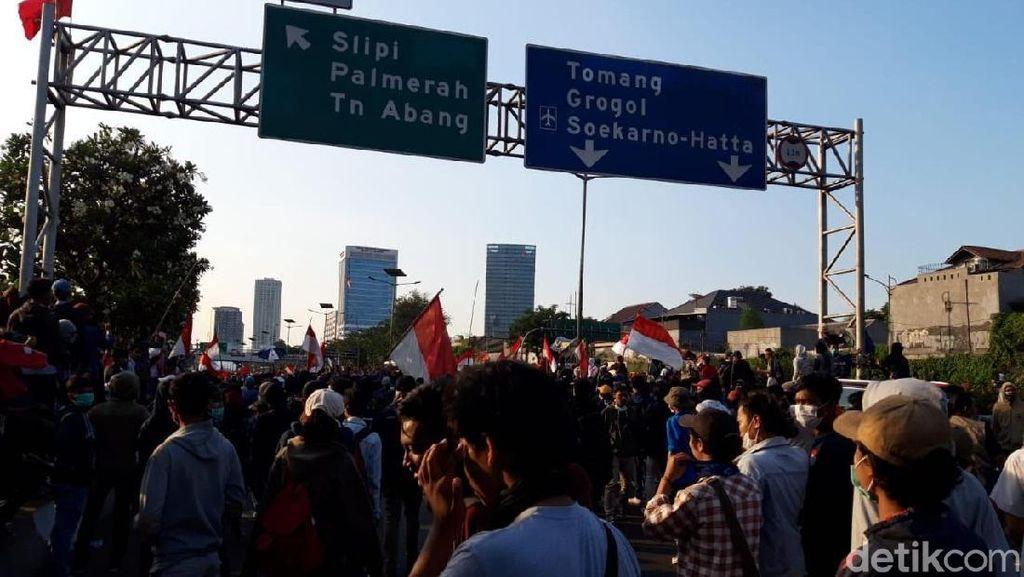 Netizen: Awas #PenumpangGelap di Demo Mahasiswa