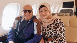 Ultah Ke-57, Irwan Mussry dapat Kecupan dan Peluk dari Maia Estianty