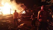 Pasar Nglangon Sragen Terbakar, Belasan Kios Hangus