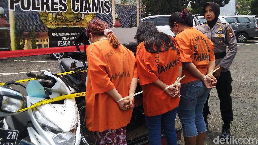 3 Emak-emak Pangandaran Ditangkap Karena Sewakan Rumah Untuk Mesum