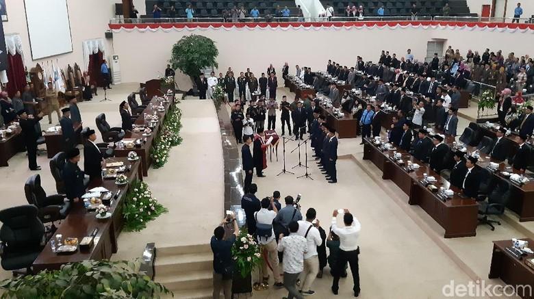 Ketua DPRD Banten Dipimpin Kader Gerindra