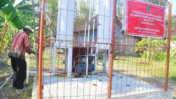 alat separator gas alam di Grobogan