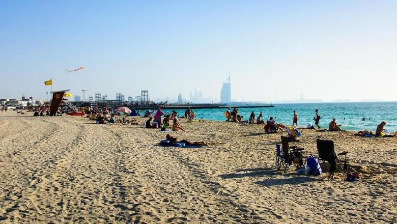 Pantai Kite di Dubai. (Foto: dok. Creative-Family/iStock)