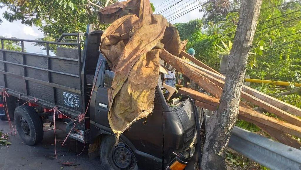 Truk Bermuatan Penyu Kecelakaan di Legian Bali, Sopir Diburu Polisi
