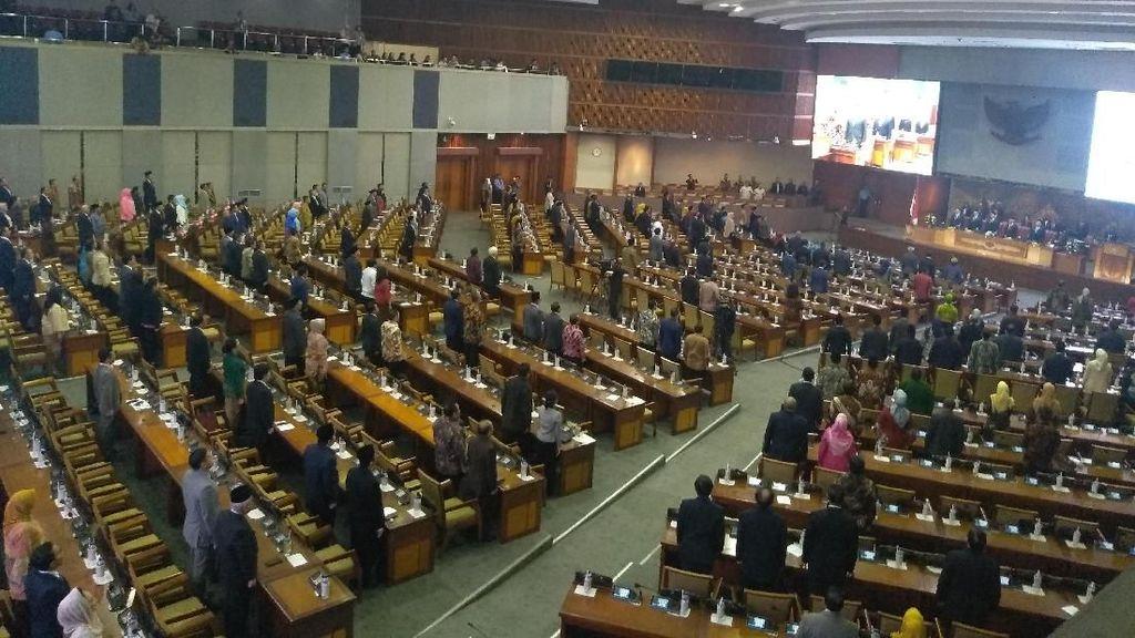Anggota DPR Teriak Minta Laporan Pansus Pindah Ibu Kota Dibacakan