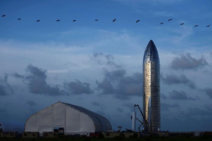 Roket Starship yang akan menuju Mars. Foto: Reuters