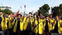 Acungkan Mawar, Mahasiswa UI Berduka Reformasi Dikorupsi