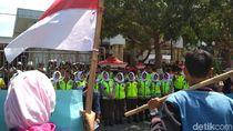 Demo Mahasiswa Blitar Tuntut Perppu KPK Disambut Lantunan Asmaul Husna