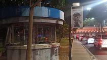 Pospol Sudirman Jadi Korban Vandalisme, Kaca Rusak dan Dicorat-coret