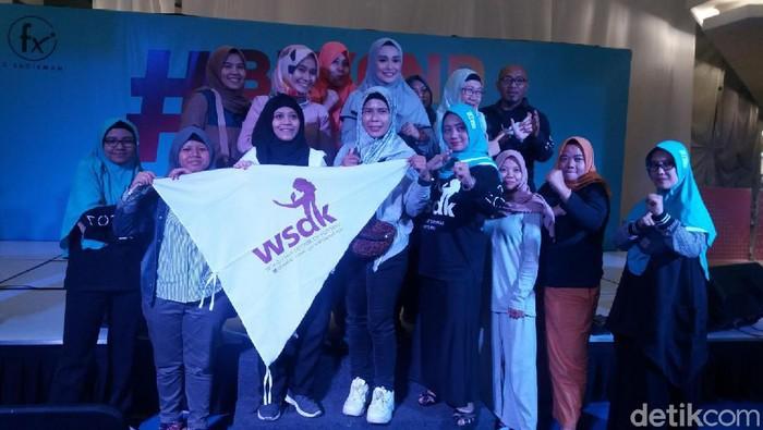 Bela diri WSDK bisa membuat perempuan makin percaya diri. (Foto: Nabila Ulfa Jayanti/detikHealth)