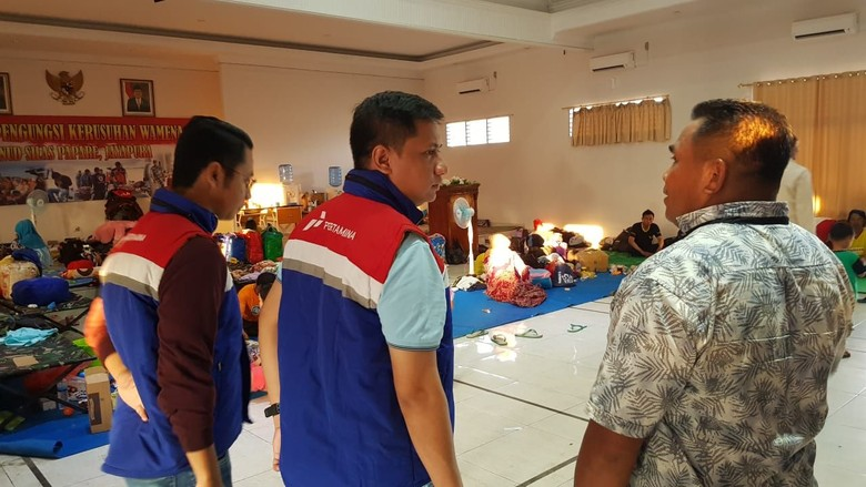 Tim Pertamina Kirim Bantuan Logistik untuk Para Pengungsi Wamena