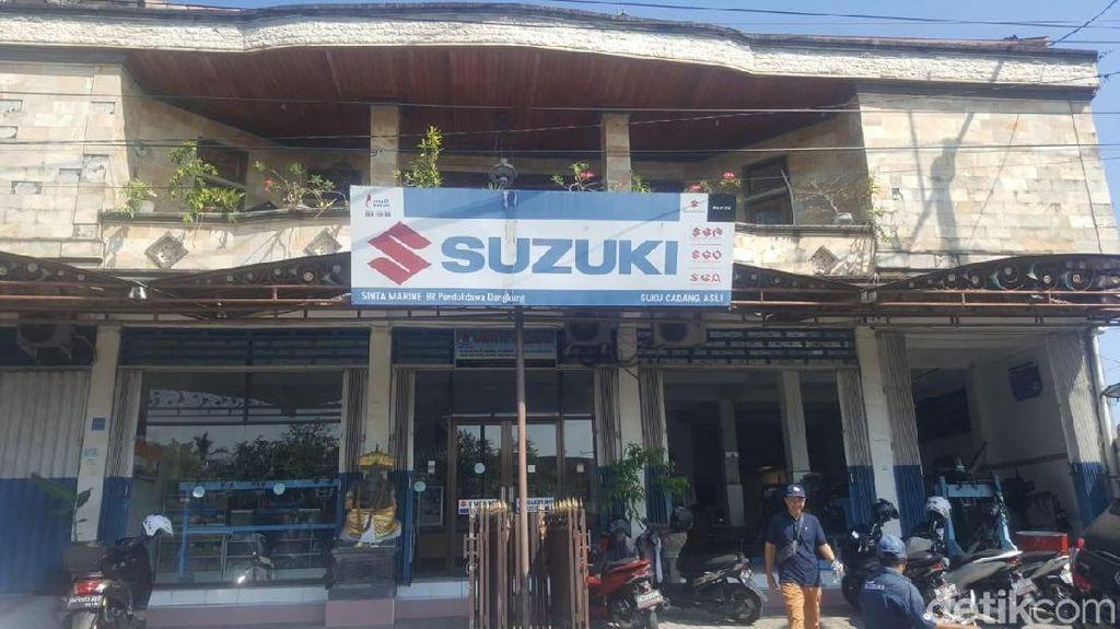 Bukan Diler Motor Suzuki, Ini untuk Motor Boat