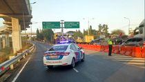 Polisi Mulai Rekayasa Arus Lalu Lintas di Tol Cawang