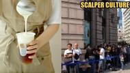 Parah! Ratusan Calo Antre di Gerai Bubble Tea Untuk Dijual Lagi dengan Harga Tinggi