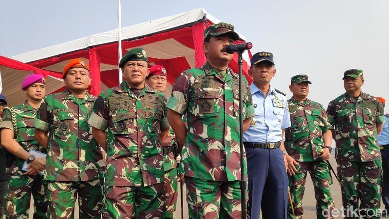 Pelantikan Anggota MPR-DPR Besok, TNI Terjunkan 6 Ribu Personel