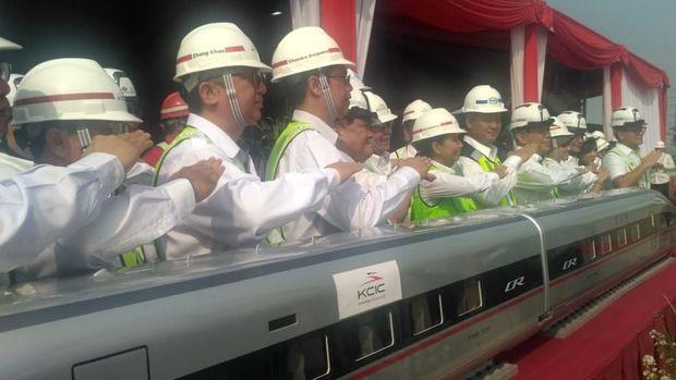 foto/Kereta Cepat Indonesia/foto. Choirul Anwar