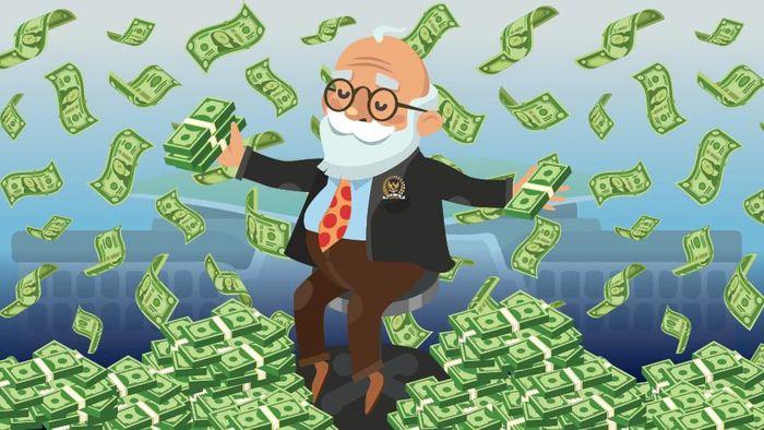 Uang Hari Tua DPR Rp 6,2 M