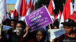 KMND Gelar Aksi Long March Selamatkan Konstitusi