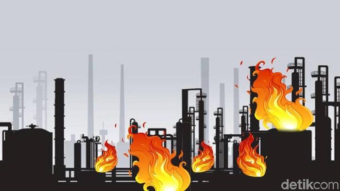 Foto ilustrasi kebakaran pabrik: Edi Wahyono