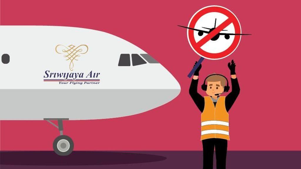 Syarat Garuda Mau Pasang Logo Lagi di Pesawat Sriwijaya Air