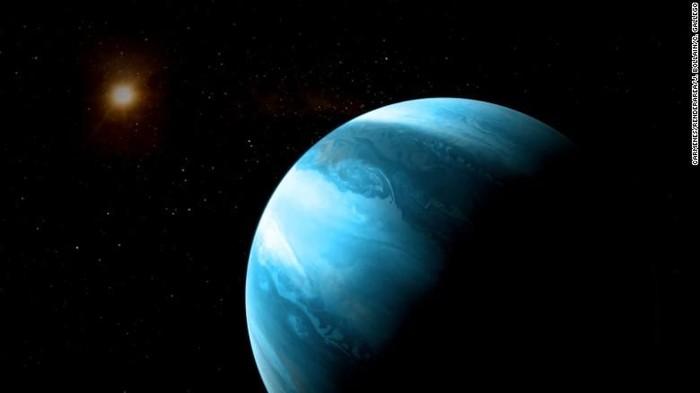 Ilustrasi planet GJ 3512 mengorbit di bintang kerdil. Foto: CNN