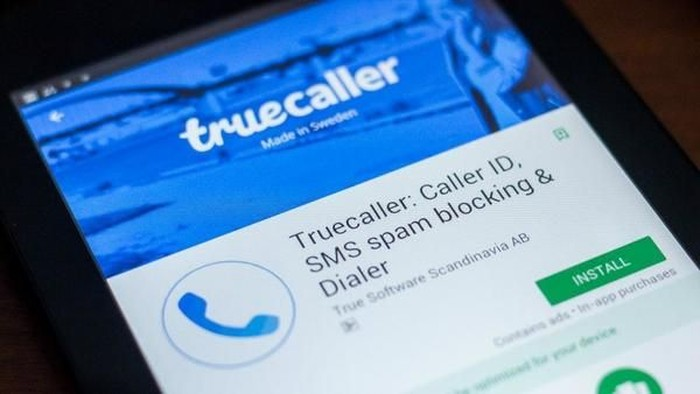 Aplikasi Truecaller. Foto: Livemint