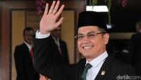 Artis Tommy Kurniawan pun berhasil lolos menjadi salah satu anggota DPR RI periode 2019-2024. Ia diusung Partai PKB dapil Jawa Barat V dengan perolehan suara 33.988. Lamhot Aritonang/Dok. Detikcom.