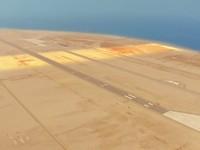 Pembangunan pun dilakukan secara bertahap dan tahap pertama akan selesai pada tahun 2025 mendatang. Adapun kemajuan yang telah bisa dilihat yaitu Bandara Neom yang hampir selesai dan telah terdaftar sebagai bandara internasional resmi. (Foto: Twitter/Saudi Air Navigation Services Company)