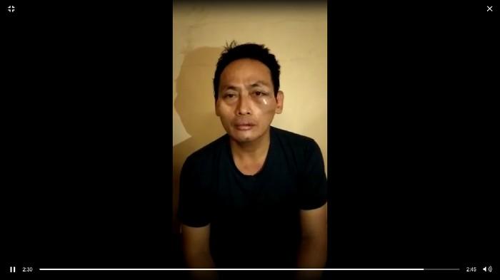 Ninoy Karundeng (Foto: screenshot video)