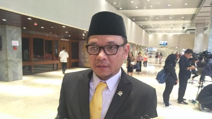 Ace Hasan Syadzily (Nur Azizah Rizki Astuti/detikcom)