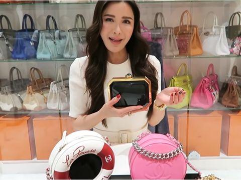 Penyesalan Jamie Chua Beli 5 Tas Chanel Ratusan Juta Tapi Tak Pernah Dipakai