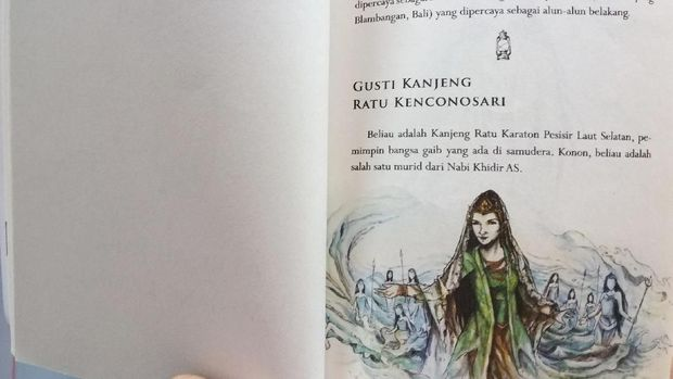 Syarat Gusti Kanjeng Ratu, Ada di Bagian Depan Buku Kisah Tanah Jawa