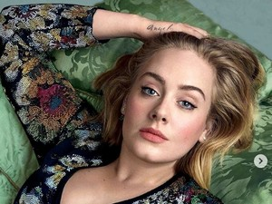 Lebih Langsing dan Tirus, Penampilan Baru Adele Jadi Sorotan