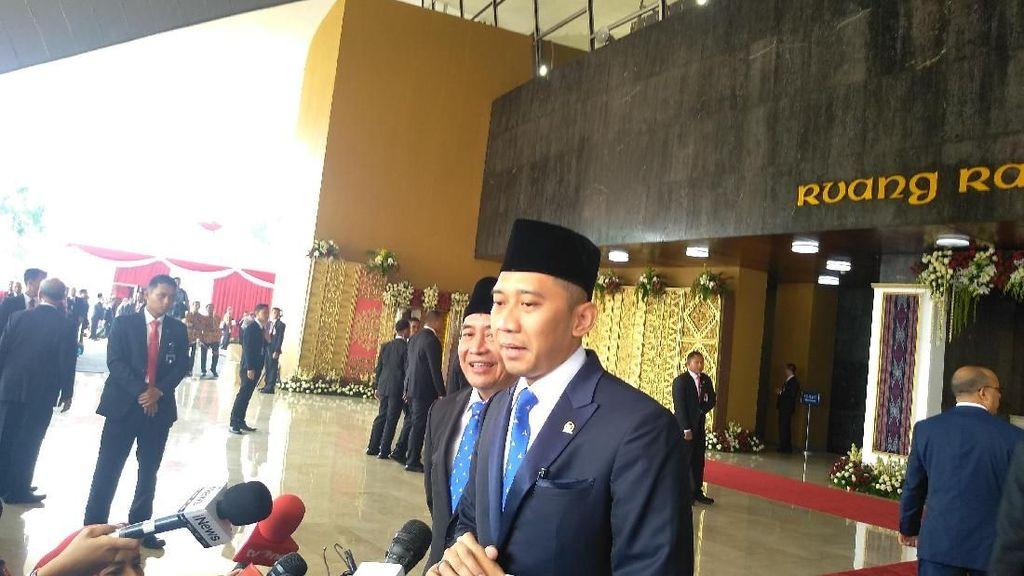 3 Periode Jadi Anggota DPR, Ibas Janji Jalankan Tugas Sebaik-baiknya