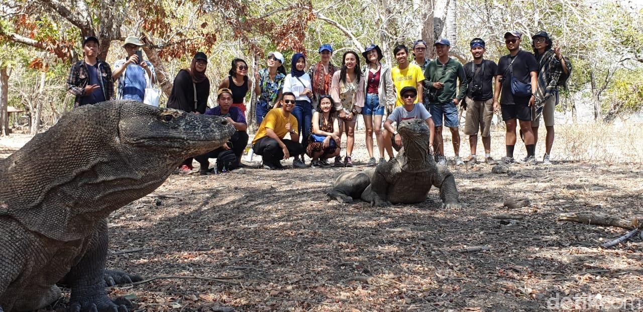 Agus di Labuan Bajo, Agus di Taman Komodo
