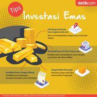 Mau Mulai Investasi Emas? Cek Berita Ini Dulu