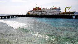 Kemeriahan Miangas Sambut Kapal-kapal yang Datang
