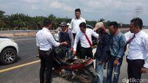 Polisi Tangkap 3 Pemalak Sopir Truk di Proyek Tol Palembang-Lampung