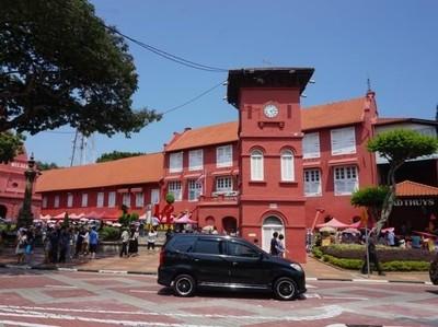 Foto: Jantungnya Kota Melaka