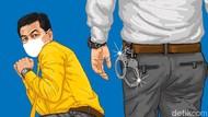 Polisi Tangkap Pelaku Penyiraman Air Keras ke Istri di Kalibata Jaksel