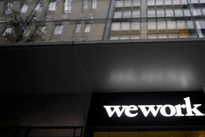 Kantor WeWork. Foto: Reuters