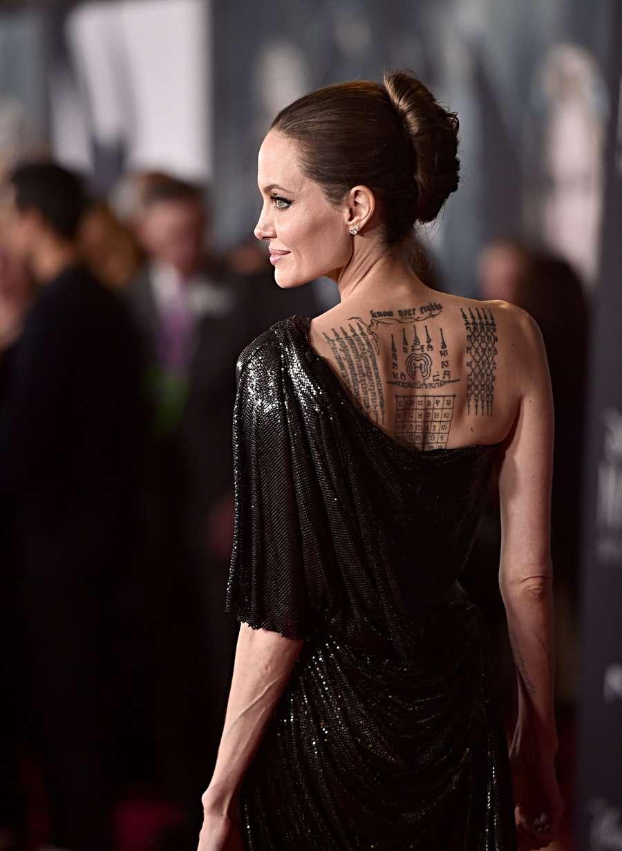 Gaya Angelina Jolie dan Kelima Anaknya di Premiere Maleficient