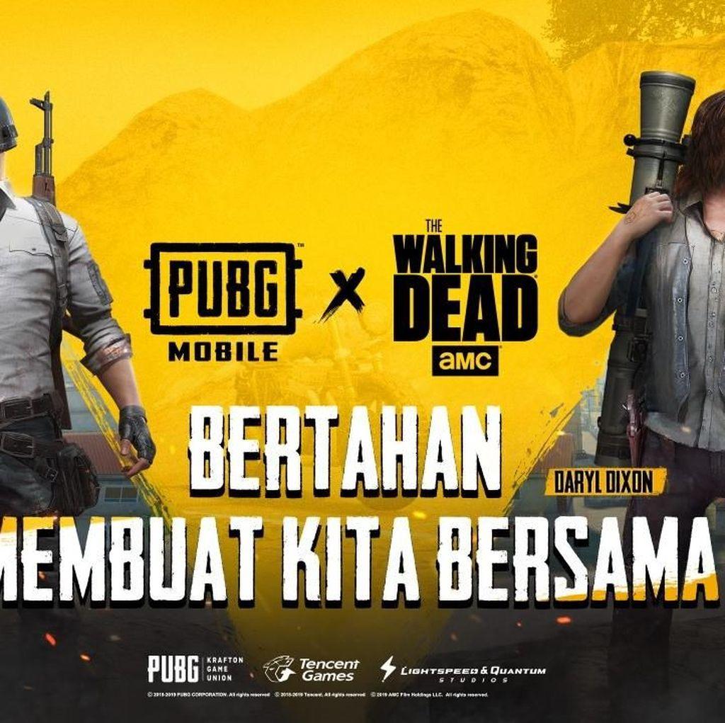 Seru! PUBG Mobile Kolaborasi Bareng Walking Dead