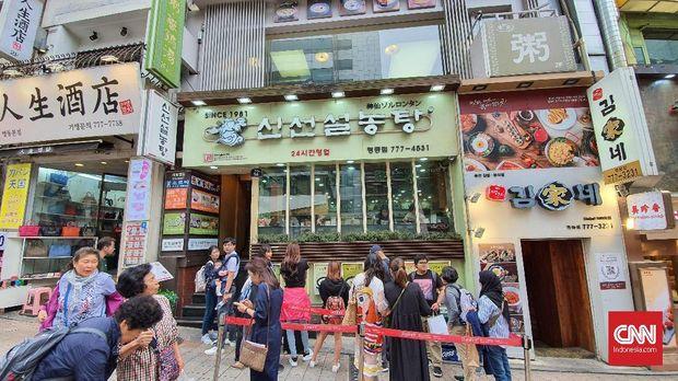 Unik Kuah Seputih Susu dari Sup Sapi ala Korea