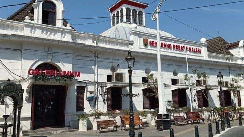 Melihat Kota Lama Semarang yang Lebih Bagus dari Kota Tua Jakarta