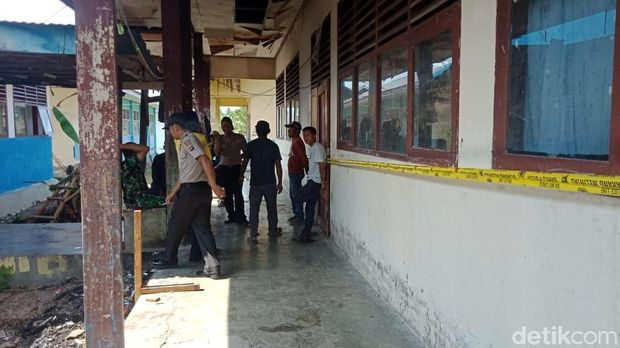 Lokasi penyergapan terduga teroris di Morowali Utara, Sulteng/