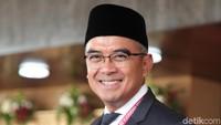 Presenter Muhammad Farhan juga menjadi salah satu wajah baru di DPR RI periode 2019-2024. Ia diusung Partai NasDem dapil Jawa Barat I dengan perolehan suara 52.033. Lamhot Aritonang/Dok. Detikcom.