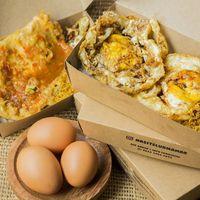 Penggemar Telur, di Sini Ada Nasi Telur Goreng yang Gurih Murah