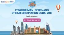 Selamat! Ini Dua Nama Pemenang Dream Destination Dubai